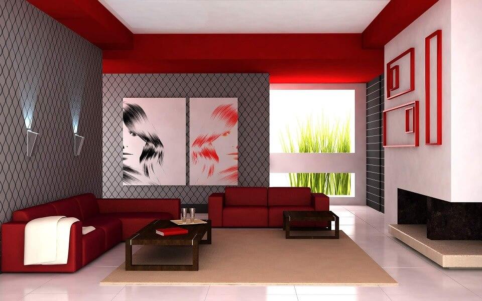 Ogniste kolory do mieszkania