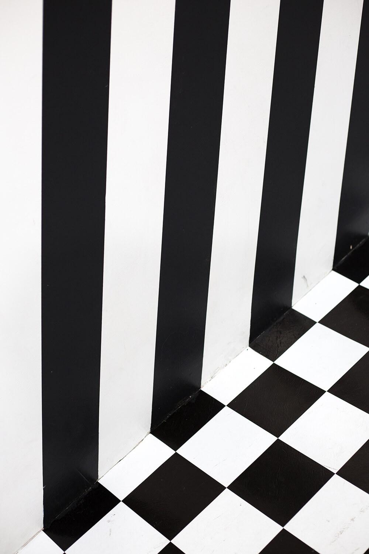 kolor czarny w mieszkaniu