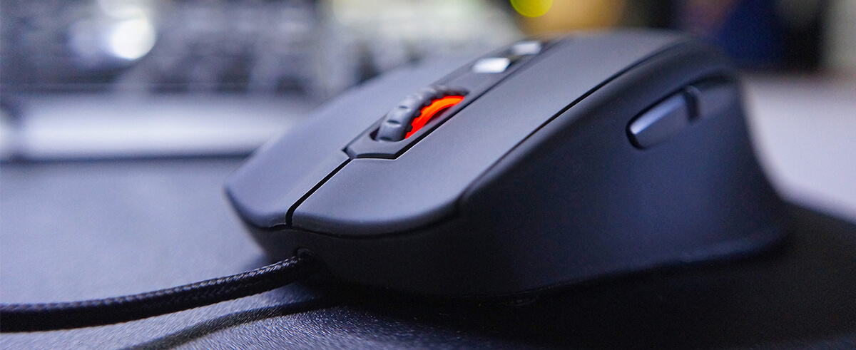 wysoka mysz komputerowa