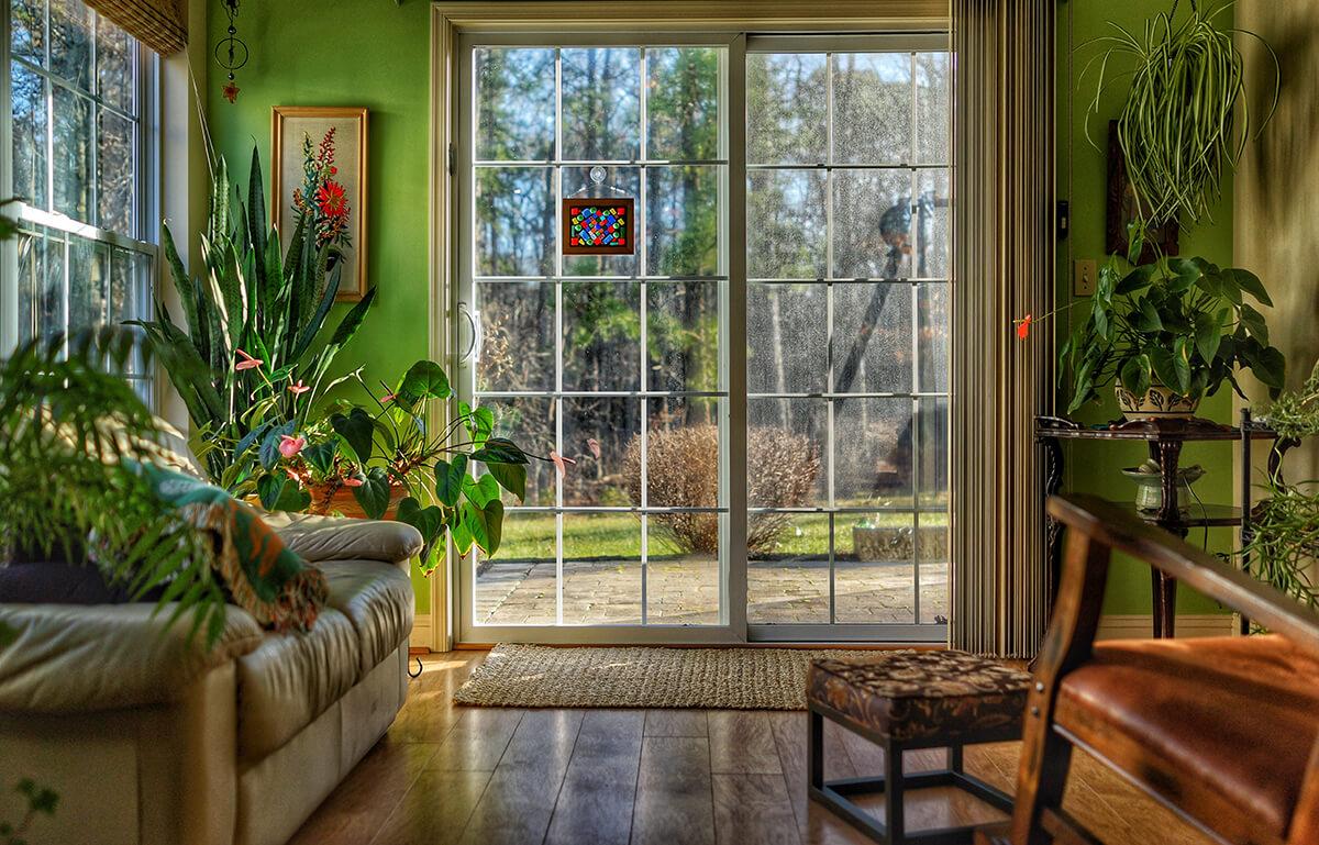 kolor zielony w mieszkaniu