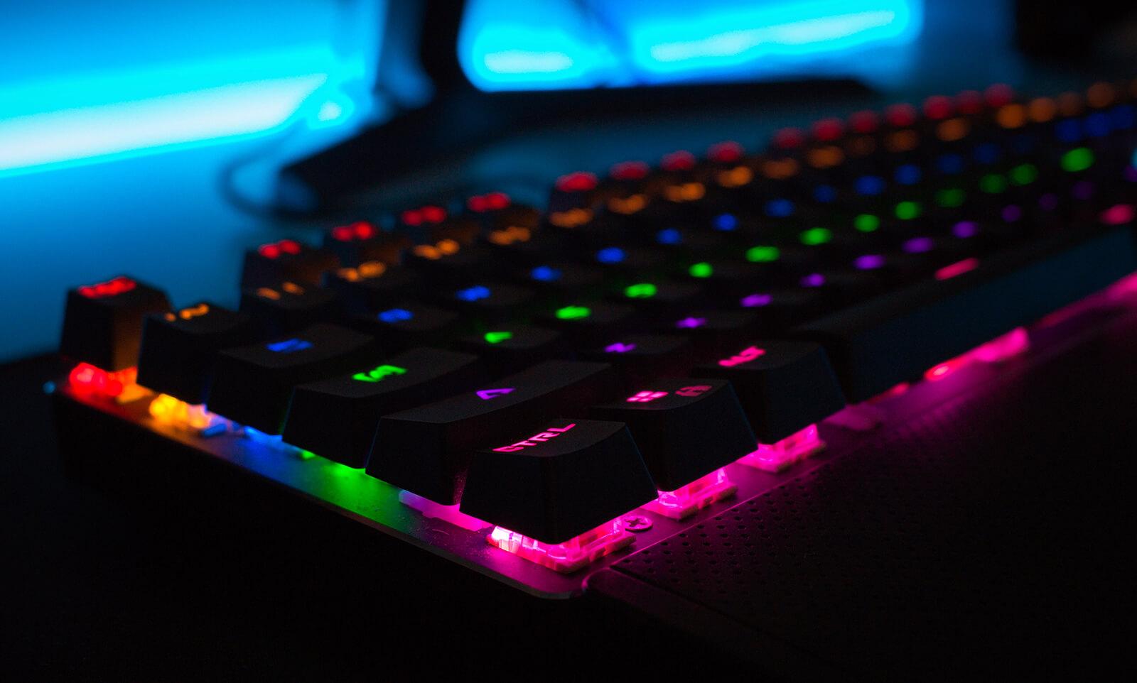 podświetlenie klawiatury do komputera