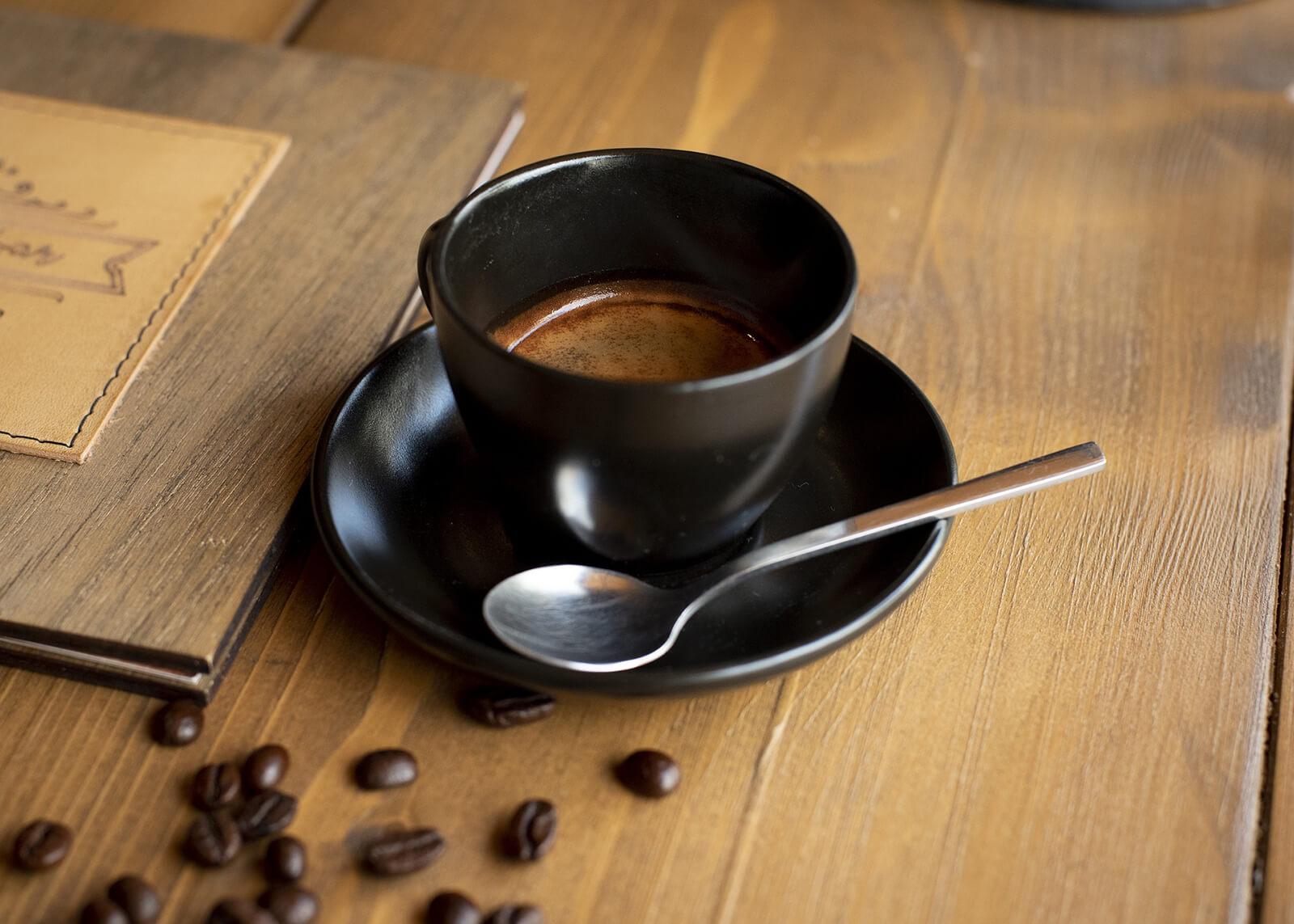 aromatyczne espresso w filiżance