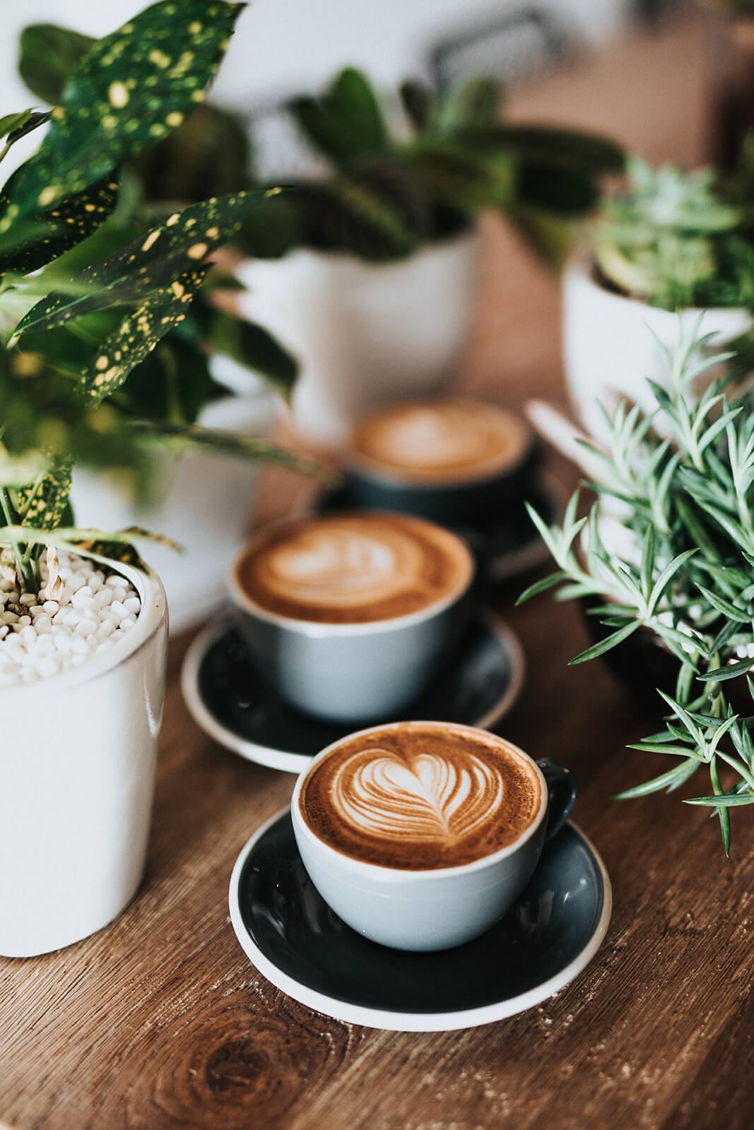 serce z mleka w kawie