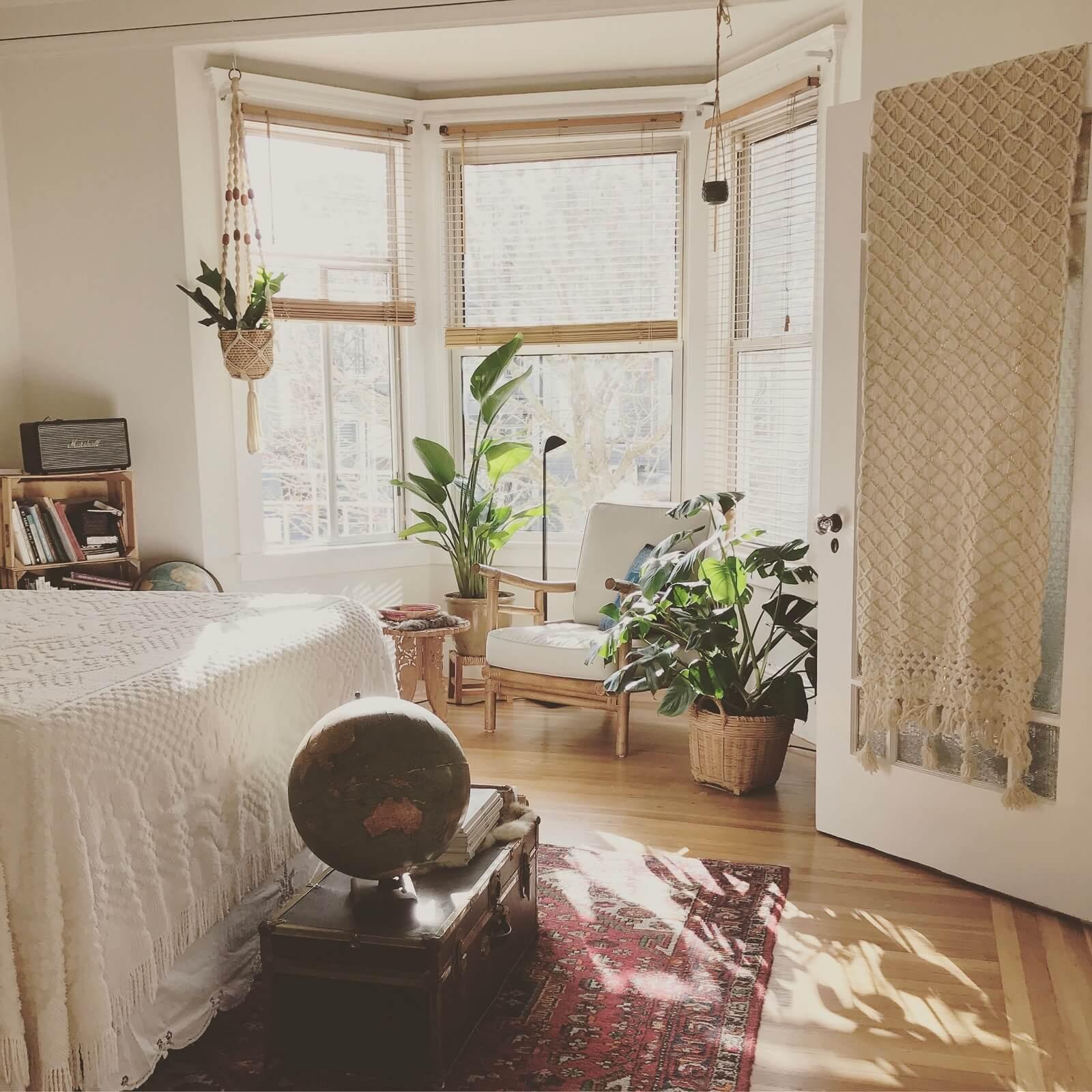 Wystrój sypialni w domu