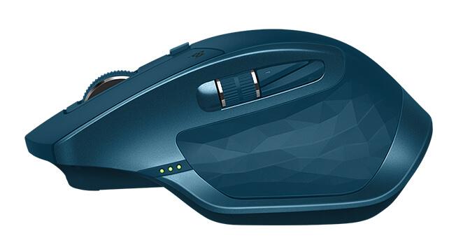 Granatowa mysz bezprzewodowa Logitech MX Master 2S
