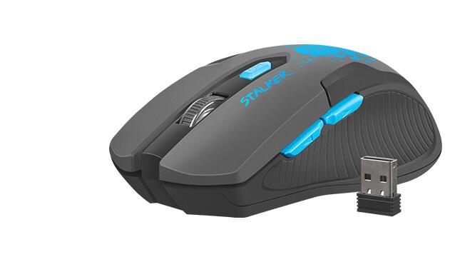 Myszka bezprzewodowa gamingowa Fury Stalker