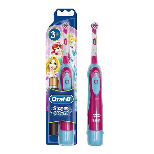 Szczoteczka elektryczna dla dziewczynki Oral-B Stages Power Kids