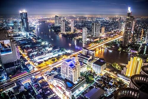 Stolica Tajlandii Bangkok