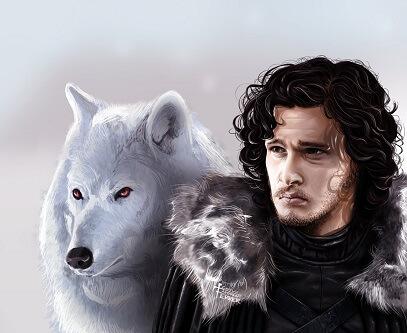 Jon Snow Gra o tron