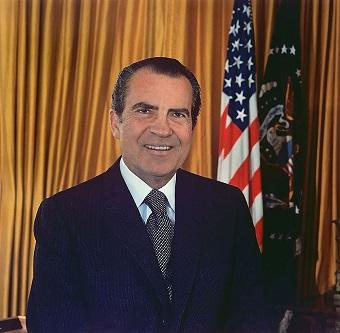 Prezydent Richard Nixon