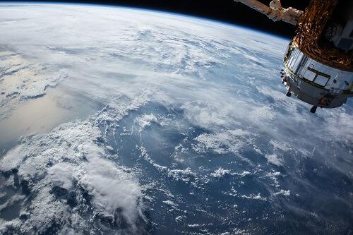 Chmury widziane z kosmosu