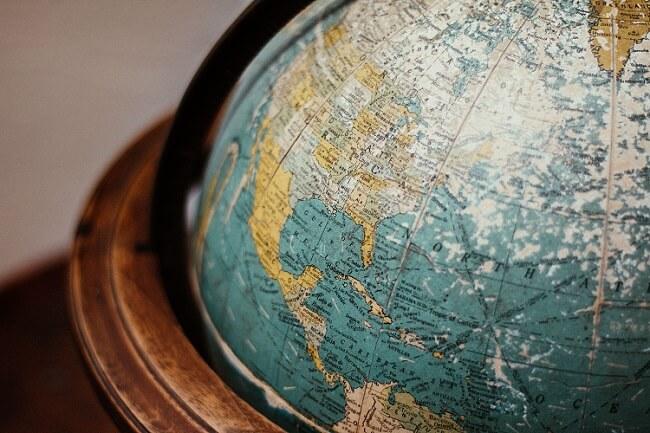 Model Ziemi globus