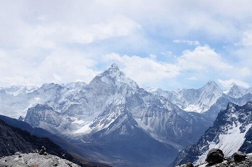 Ośnieżone góry