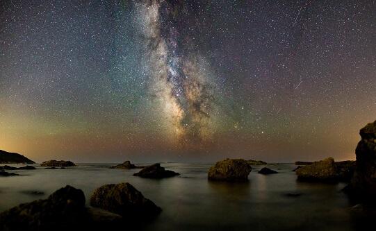 Droga Mleczna z gwiazdami