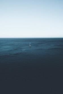 Morze i łódka