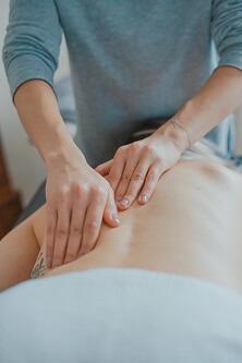 Kręgosłup masaż