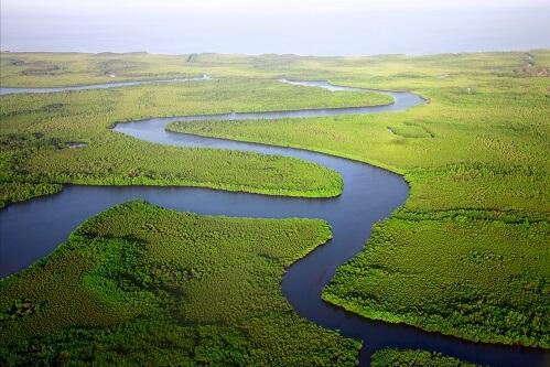 Rzeka i nizina