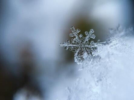 Śniegowy płatek