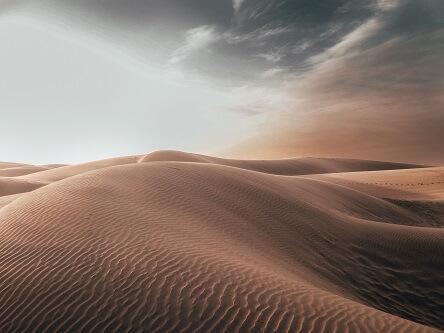 Wydmy pustynne