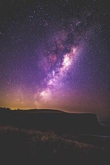 Droga Mleczna widok z Ziemi