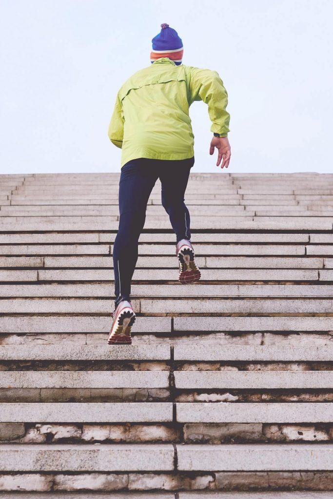Bieganie schody
