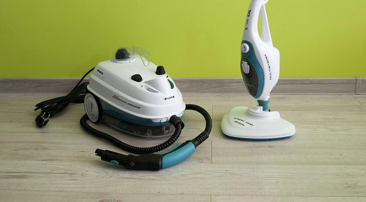 Czyszczenie parą z myjkami parowymi Ariete