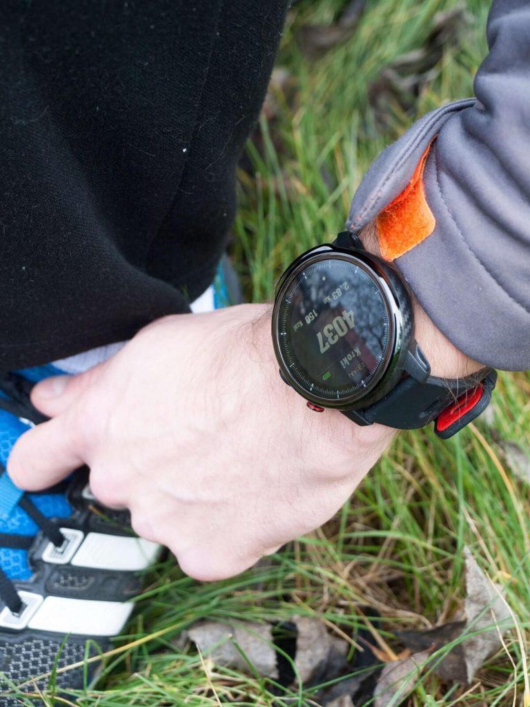 Licznik kroków w smartwatchu Garett