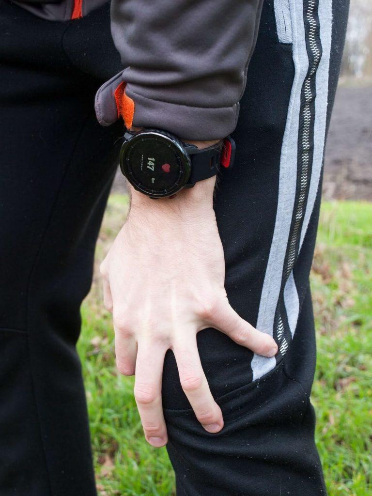 Mierzenie tętna smartwatchem