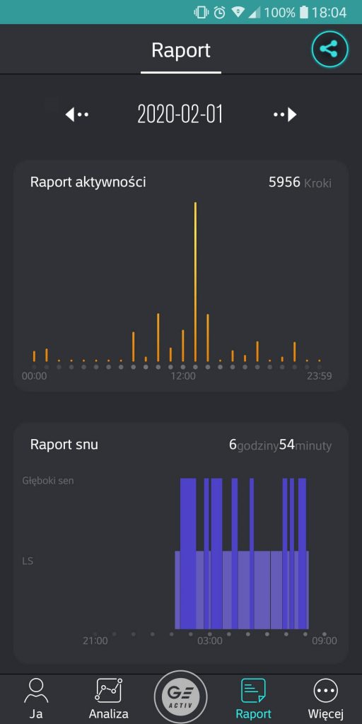 Aplikacja Garet Activ - 4
