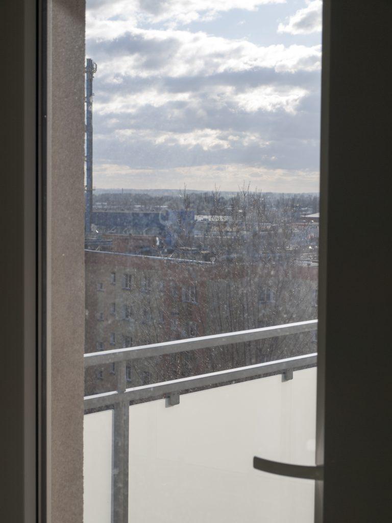 Okno przed myciem parowym