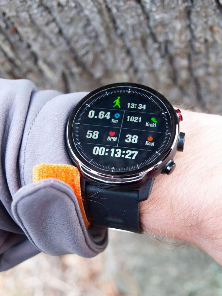 Tryb sportowy w smartwatchu Garett