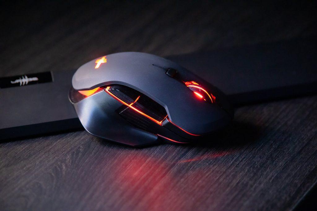 RGB w bezprzewodowej myszce gamingowej