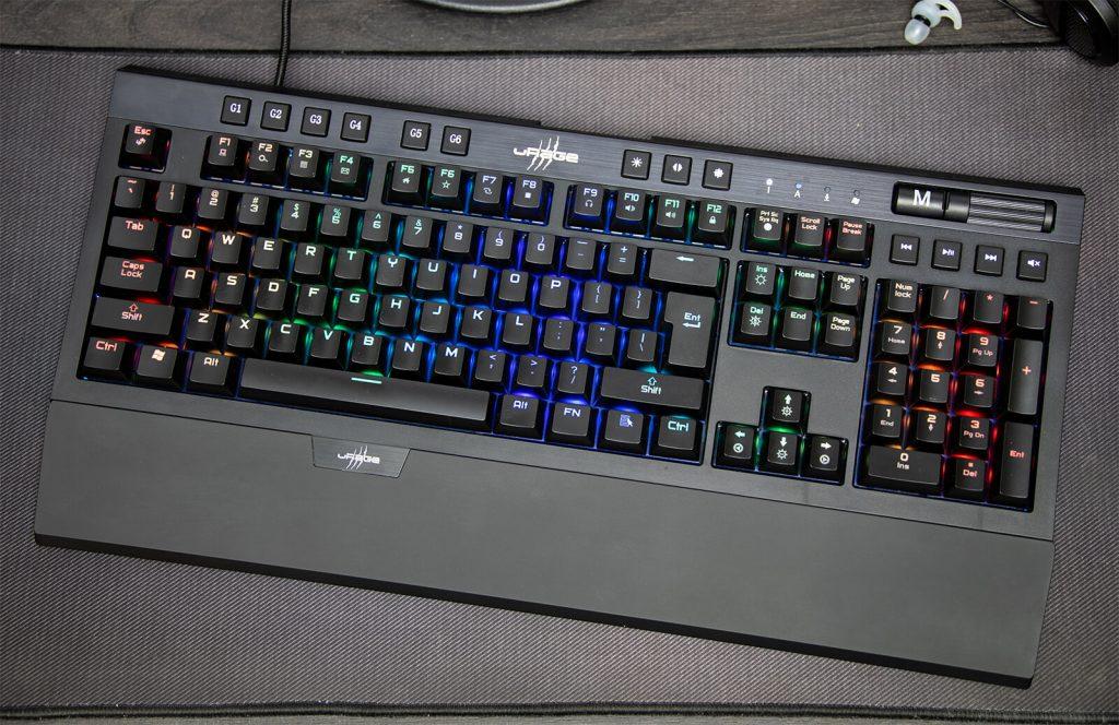 Klawiatura gamingowa z podświetleniem RGB