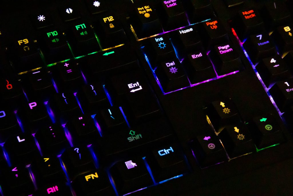 Test podświetlenia klawiatury Exodus 900