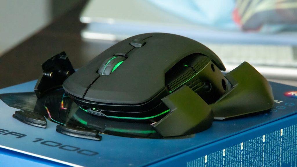 Ciężarki i boczne panele dodatkowe myszki Reaper 1000