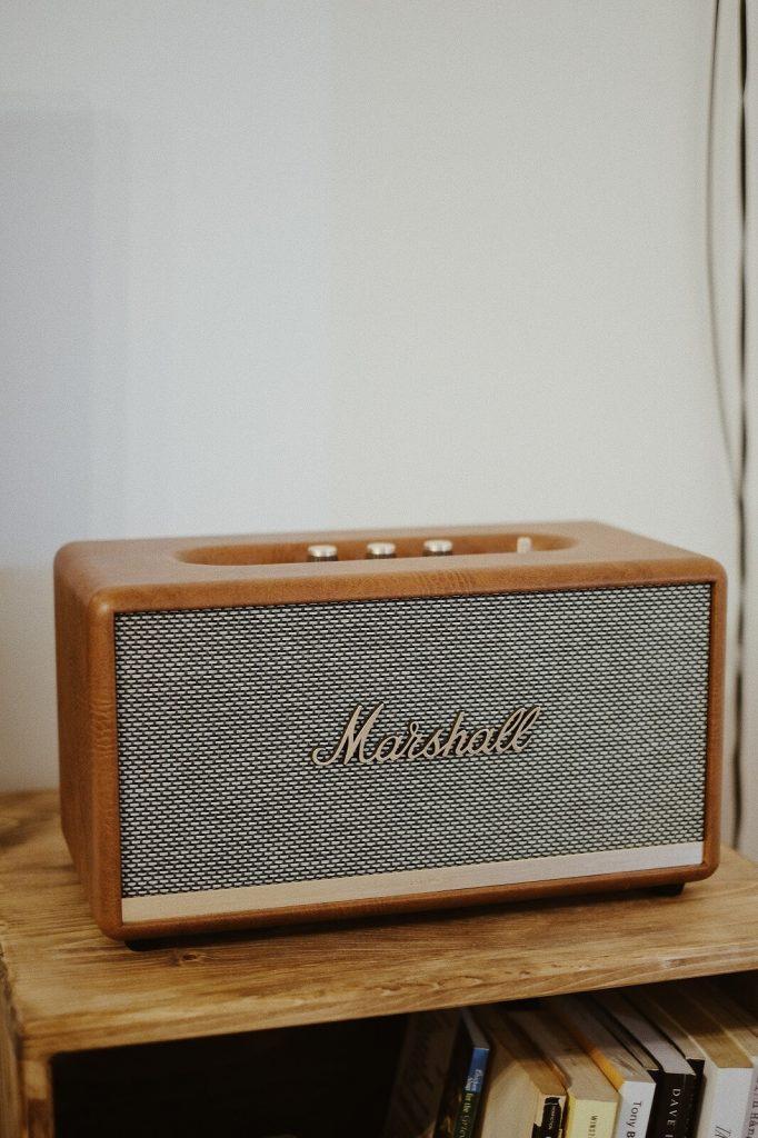 Marshall głosnik Bluetooth w stylu retro