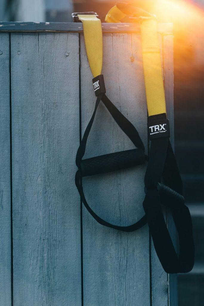 Taśmy TRX w street workout