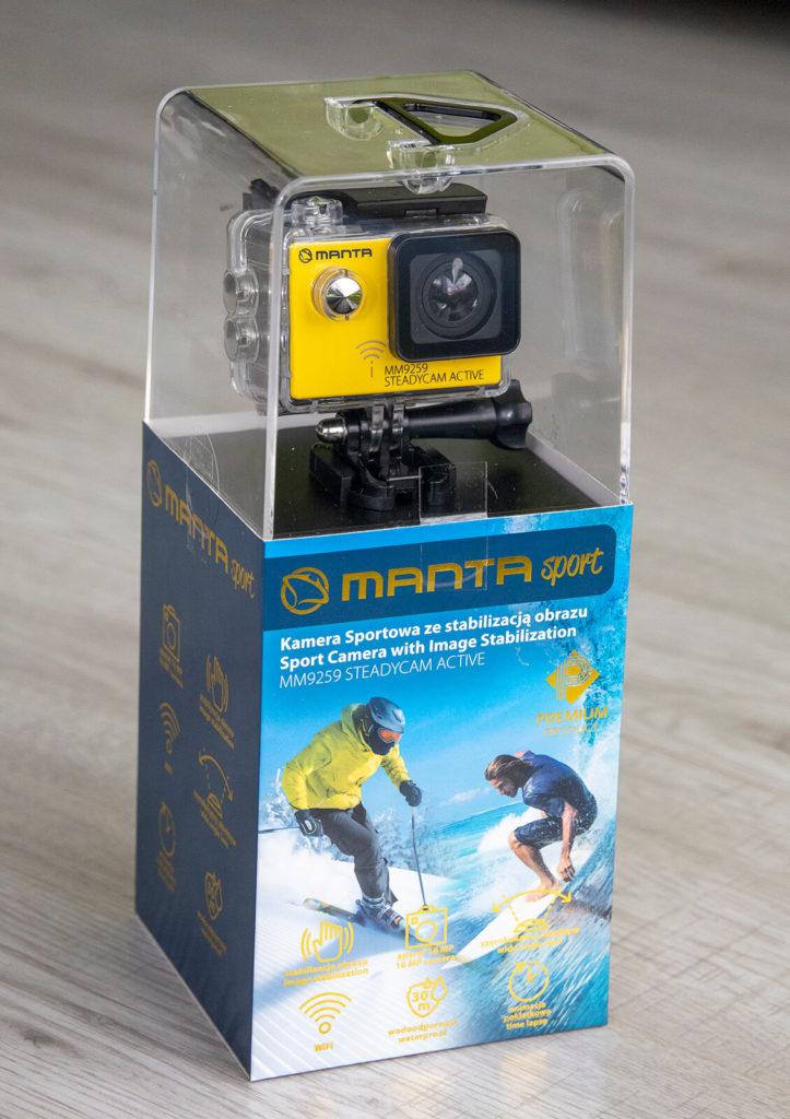 Kamera sportowa ze stabilizacją obrazu
