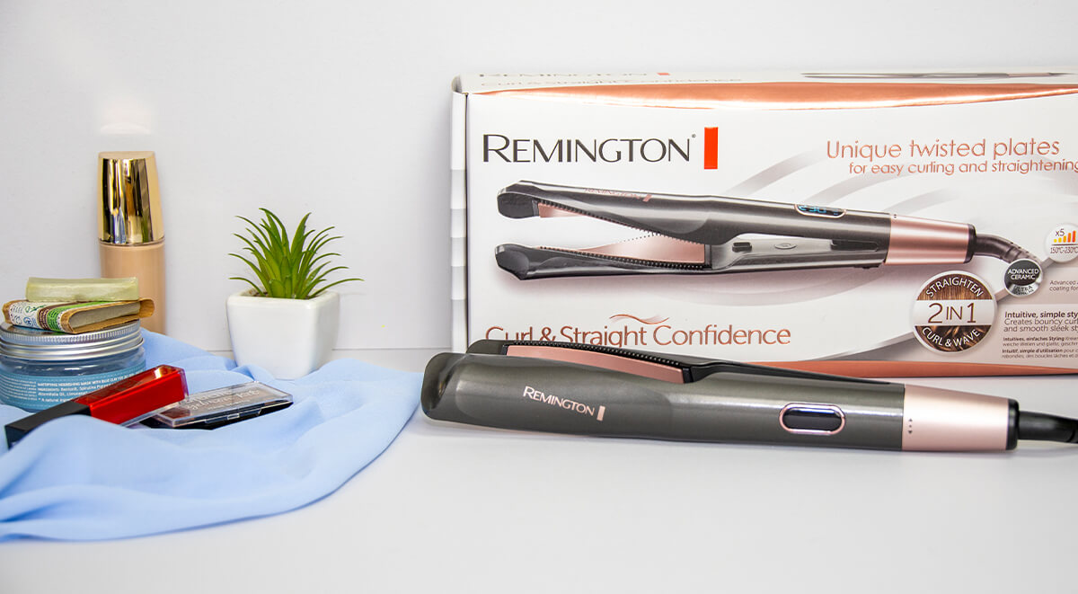 Remington S6606 Curl & Straight Confidence
