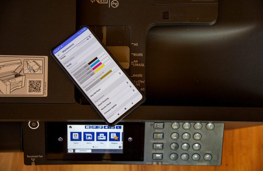 Epson iPrint na smartfona