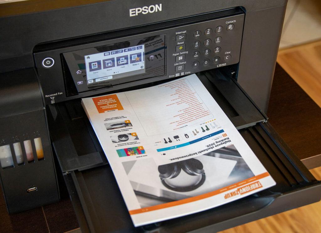 Wydruk dokumentów biurowych Epson