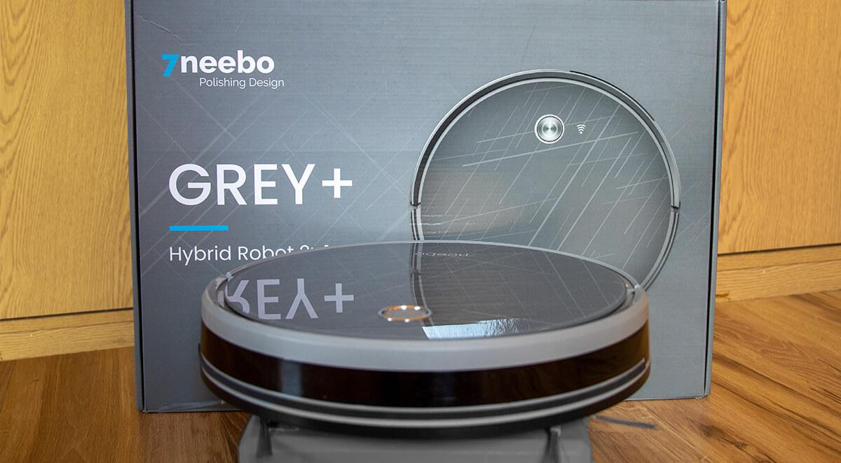 Odkurzacz automatyczny Neebo Grey Plus test i recenzja