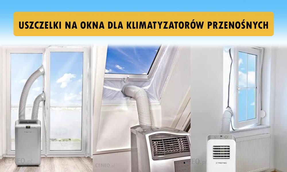 Uszczelka na okno klimatyzator mobilny